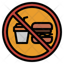 Prohibit No Food Icon