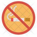 Prohibit No Smoke Icon