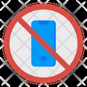 Prohibit No Mobile Icon