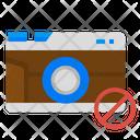Prohibit No Camera Icon