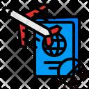 Prohibit Travelling Icon