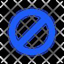 Prohibited Forbidden No Icon