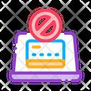 Virus Laptop Carder Icon