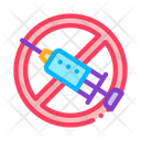 Categorical Injection Ban Icon