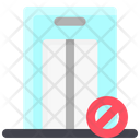 Prohibited Lift Icon