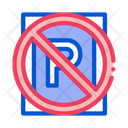 Prohibited Parking Meter Icon
