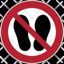 Prohibition Shoes Icon