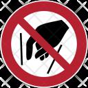 Prohibition Hands Icon