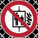 Prohibition Safe Lift Icon