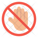 Prohibition Dont Touch Icon