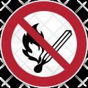 Prohibition Fire Icon