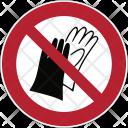 Prohibition Gloves Icon