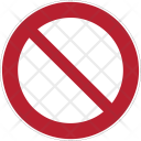 Prohibition Dont Forbidden Icon
