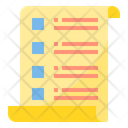 Project List Notes Icon