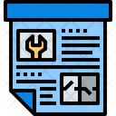 Project Construction Project Project Document Icon