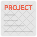 Project Business Project Project Details Icon