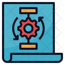 Project Workflow System Icon