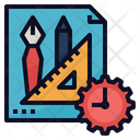 Project Management Time Icon