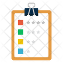 Project Clipboard List Icon