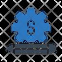 Project Setting Dollar Icon