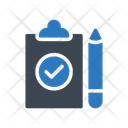 Project Clipboard Complete Icon
