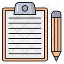 Project Clipboard Notes Icon