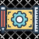 Project Plan Scheme Icon