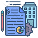 Project Management Strategy Icon