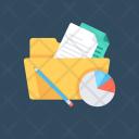 Project Folder Data Icon