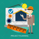 Project Planning Building Icon