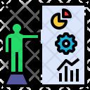 Project Presentation Design Icon