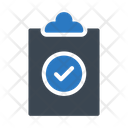 Project Clipboard Checked Icon