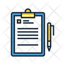 Project Briefing Report Analysis Icon