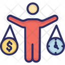Money Project Budget Time Icon