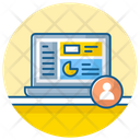 Business Performance Benchmarking Testing Icon