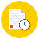 Project Deadline Project Timeline Project Plan Icon