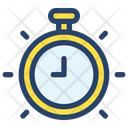 Clock Businessman Project Icon