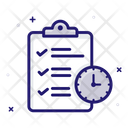 Project Deadline Project Management Project Planning Icon