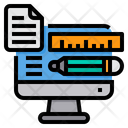Computer File Office Supplies Icon