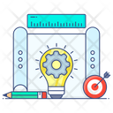 Project Development Project Management Project Automation Icon