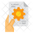 Document Progress Plan Icon