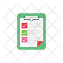 Project Clipboard Checklist Icon