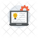 Project Idea Project Management Project Planning Icon