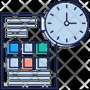 Project Management Program Management Project Deadline Icon