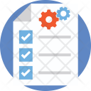 Project Management Checklist Icon
