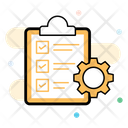 Order Management Order Processing Planning Icon