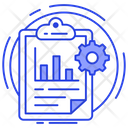 Project Management Project Plan Business Planning Icon