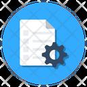 Project Management Content Management Business Management Icon