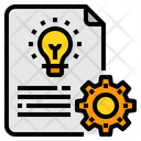 Project Innovation Idea Icon