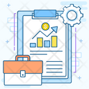Growth Analysis Sales Report Project Analysis Icon